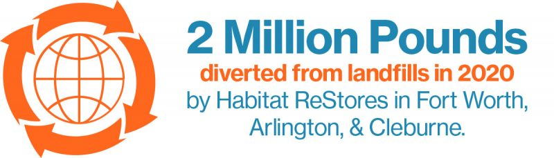 2 Million Pounds Diverted 2020v2 - Trinity Habitat for Humanity