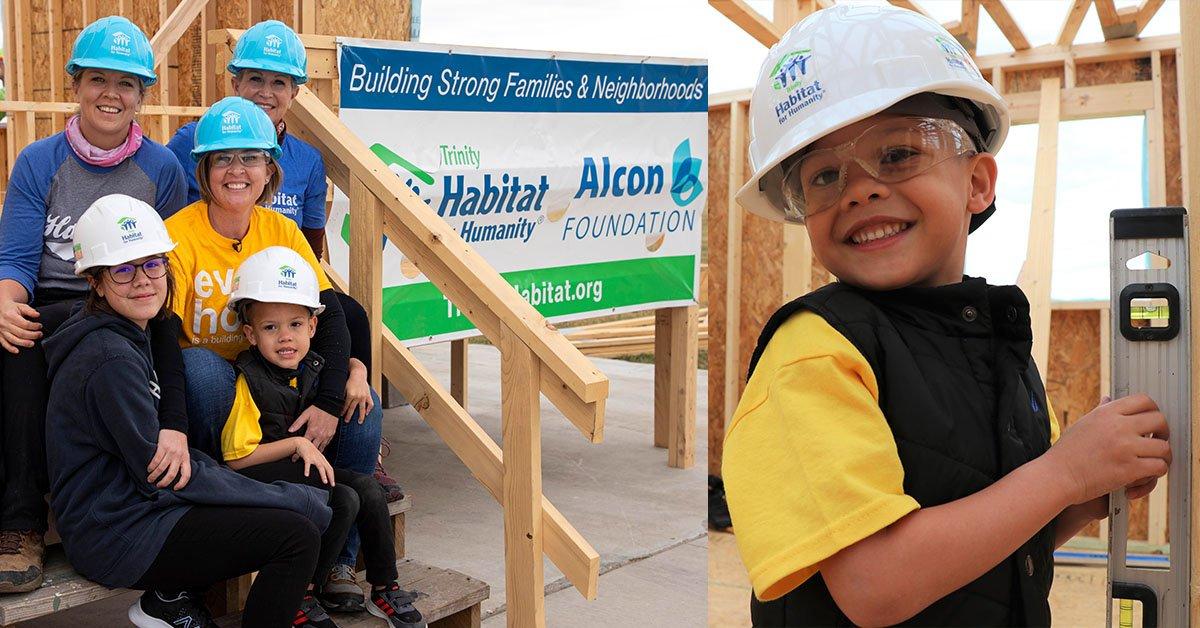 Alcon Build with Audra Sapp - Trinity Habitat for Humanity