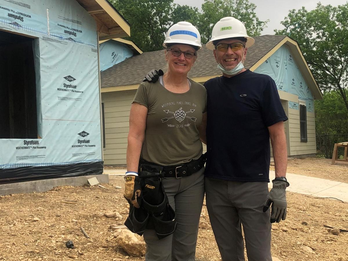 Brad & Michelle Liles - Legacy Builders - Trinity Habitat for Humanity