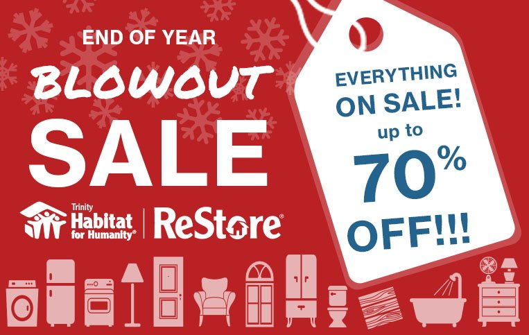 Email End of Year Sale - Trinity Habitat for Humanity