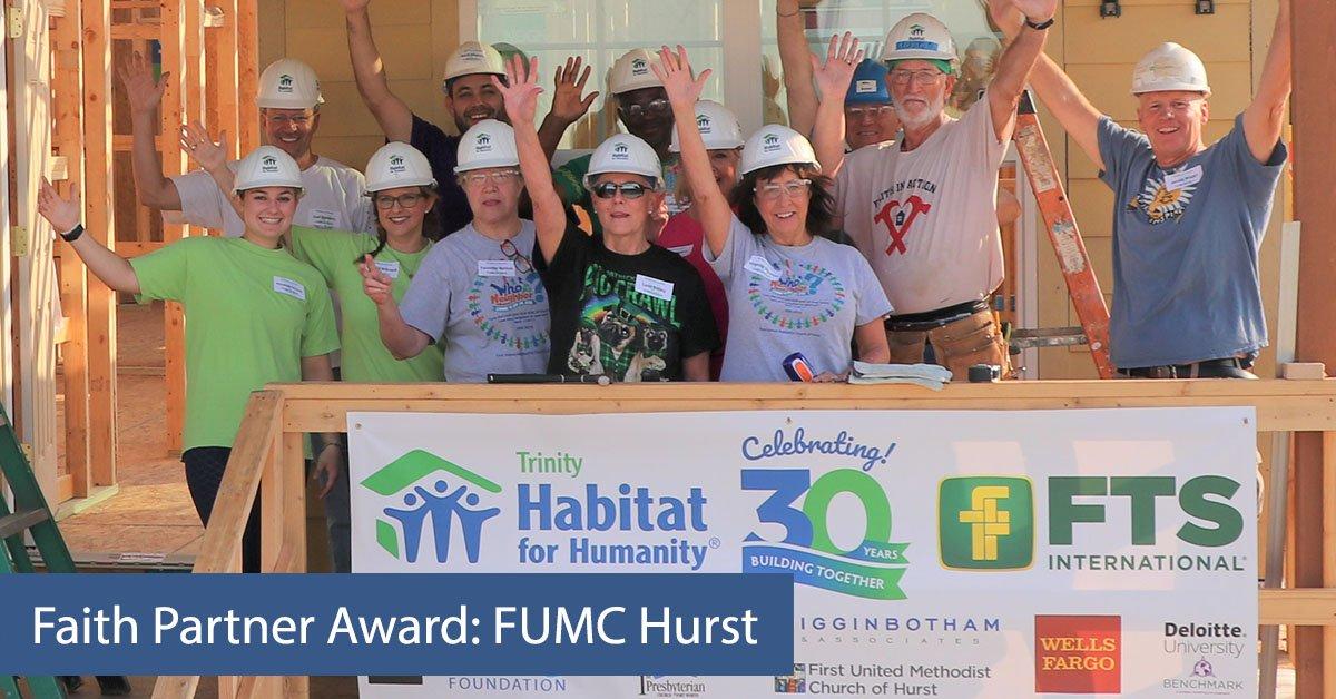 Faith Partner Award: FUMC Hurst