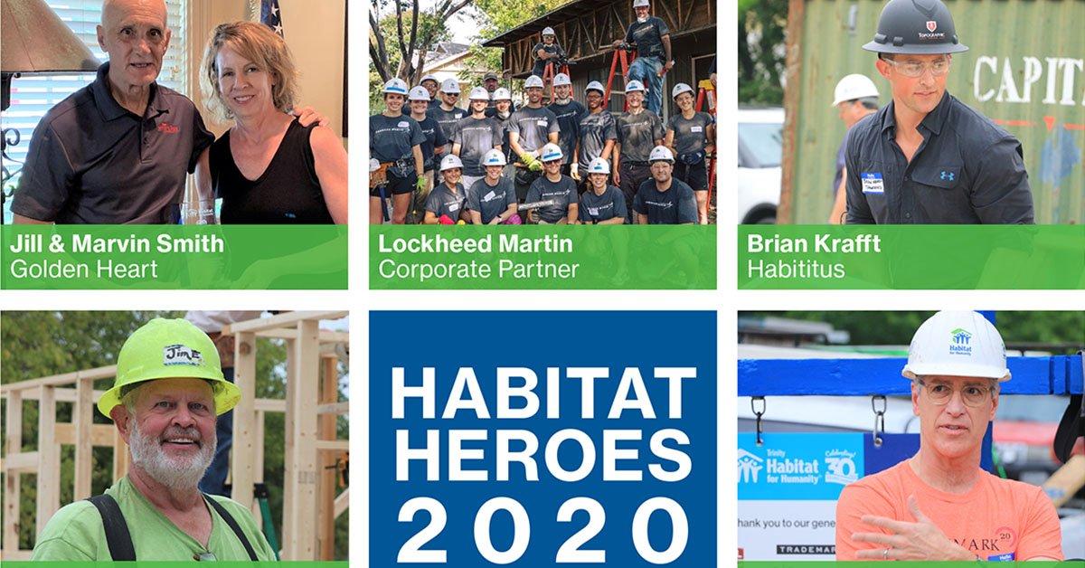 Habitat Heroes 2020 - Trinity Habitat for Humanity