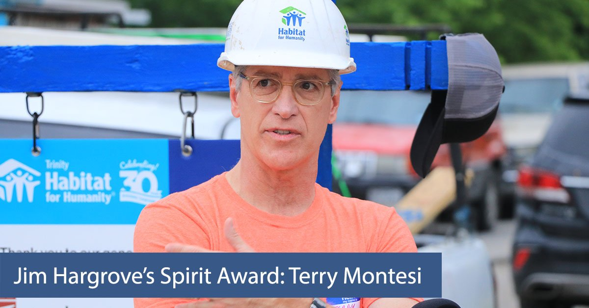 Jim Hargrove's Spirit Award: Terry Montesi
