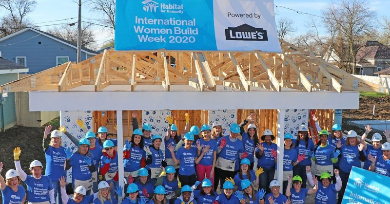 Lowe's Women Build Spring 2020 - Trinity Habitat for Humanity
