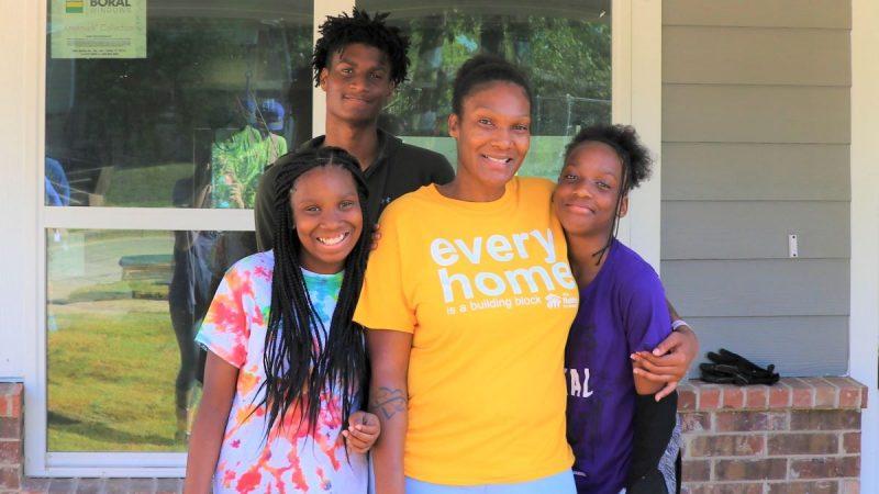 Redic Family - 2020 - Trinity Habitat for Humanity