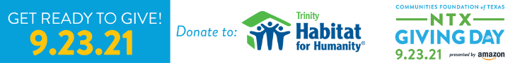 Save the Date Web Ad - Trinity Habitat for Humanity