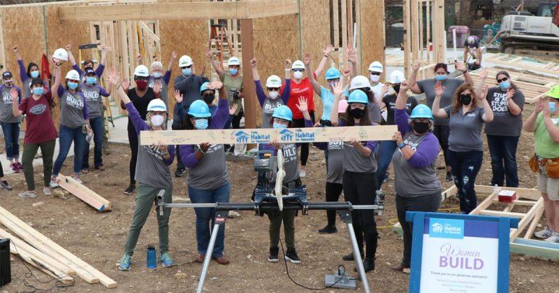 International Women Build Week 2021 - Trinity Habitat for Humanity