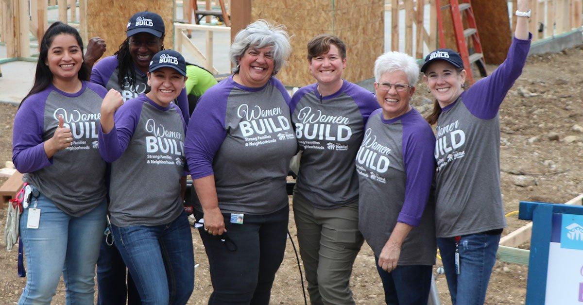 Women of Construction - Women Build Spring 2021 - Trinity Habitat for Humanity