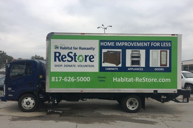 our ReStore Box Truck finnished 0 - Trinity Habitat for Humanity